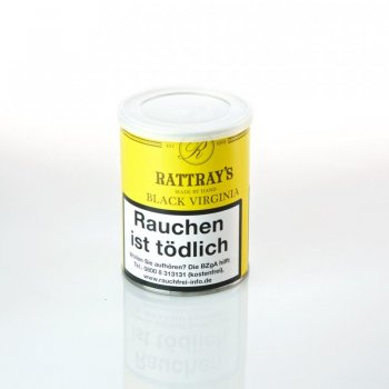 Rattray`s Black Virginia 100g Dose