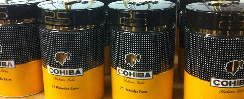 Cohiba Piramides Extra Jar