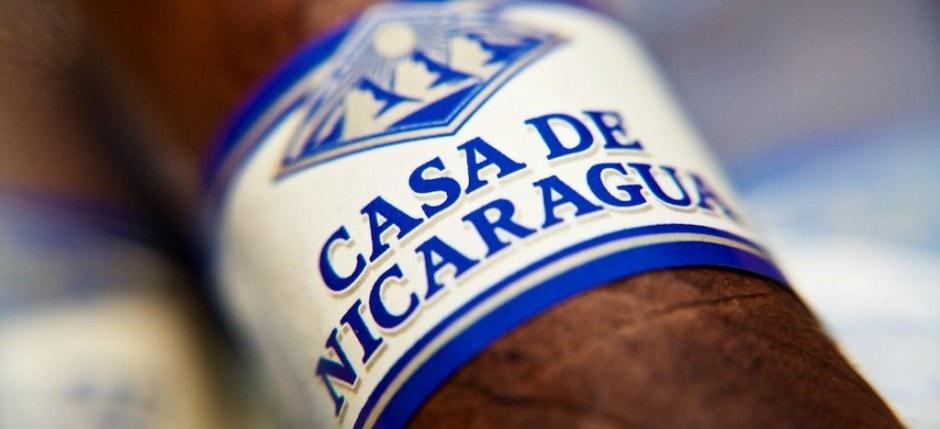 Casa de Nicaragua Zigarrenbanderole