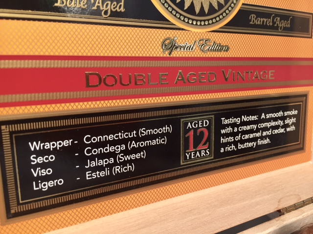 Perdomo Double Aged 12 Year Vintage Barrel Aged Zigarren