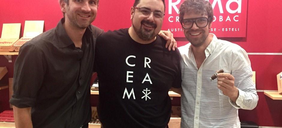 Michael Rosales mit Sebastian Gollas und Martin Geisler
