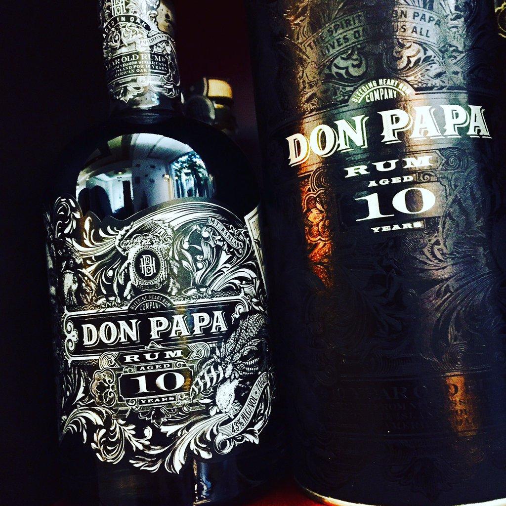 Don Papa 10 Jahre Rum