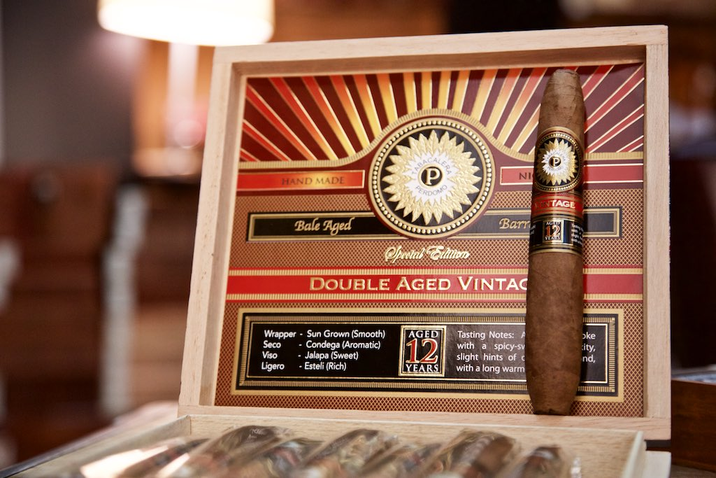 Perdomo Double Aged 12 Years Vintage Sungrown