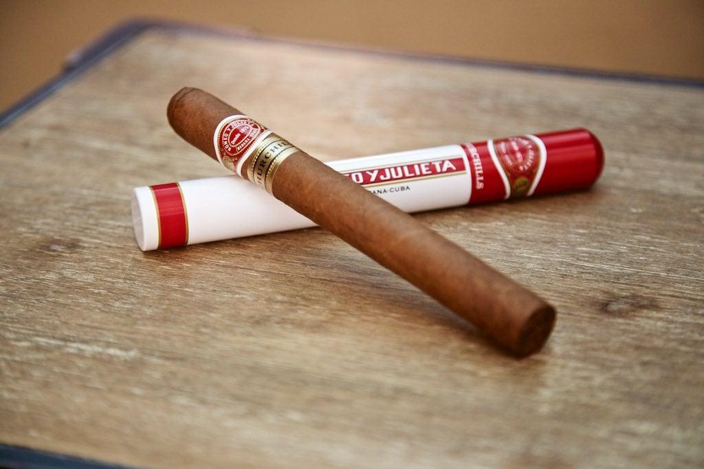Zigarren Geschenke: Romeo y Julieta Tube