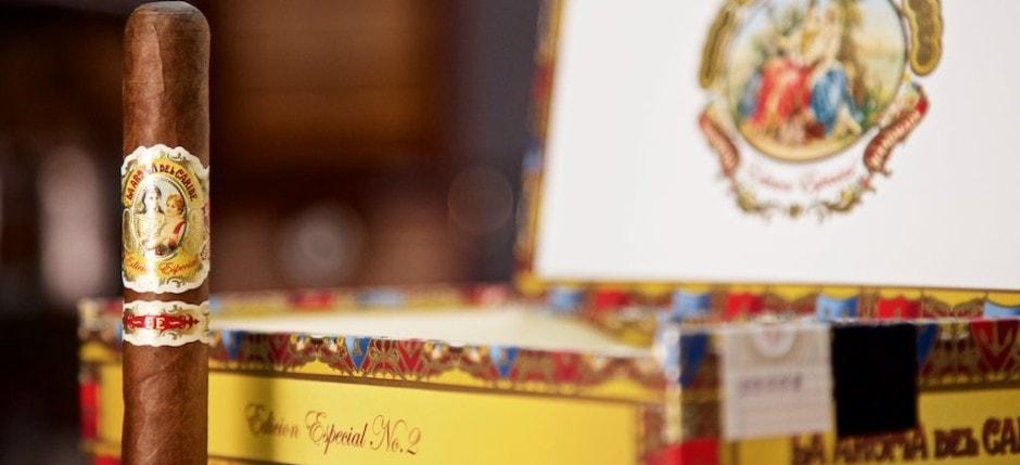 La Aroma del Caribe Edicion Especial No. 2 mit Kiste