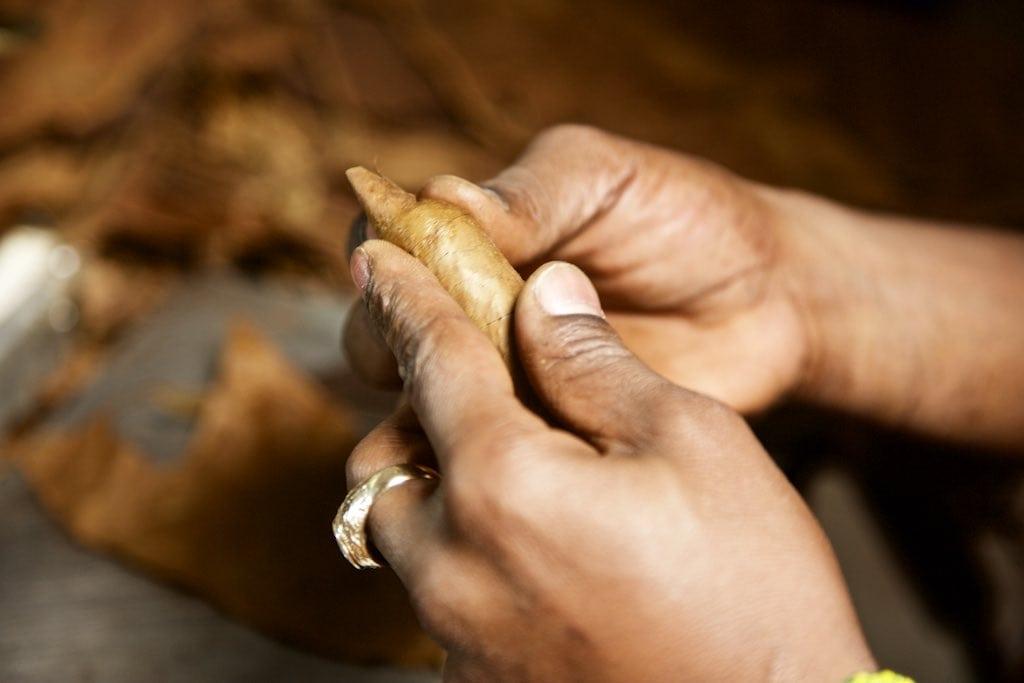 Kubanische Zigarren Herstellung