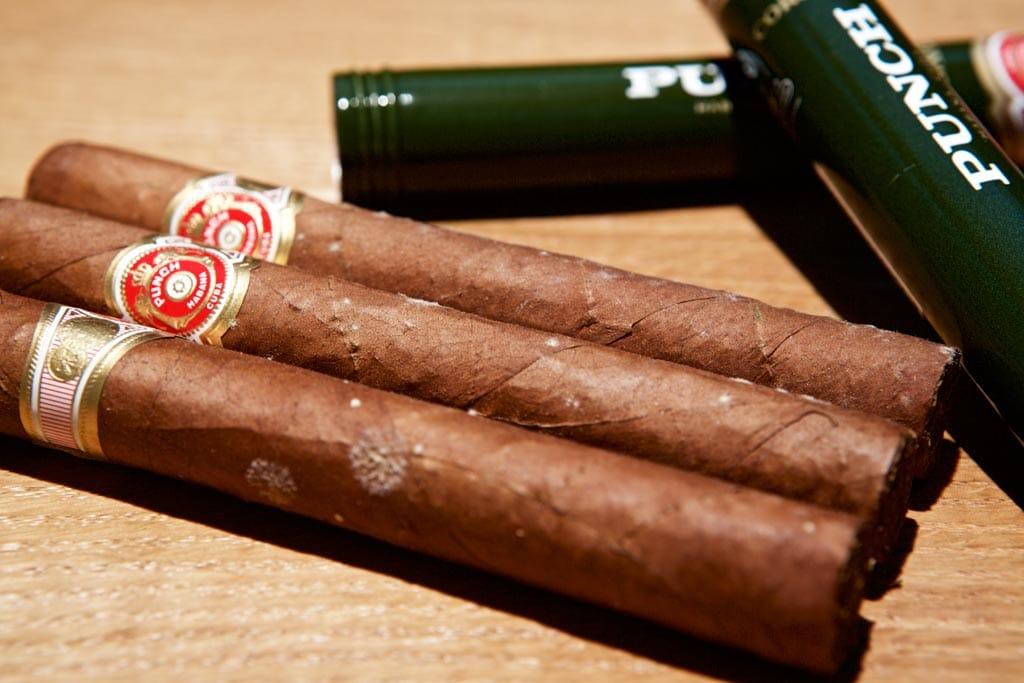 Weiße Flecken auf kubanischen Zigarren