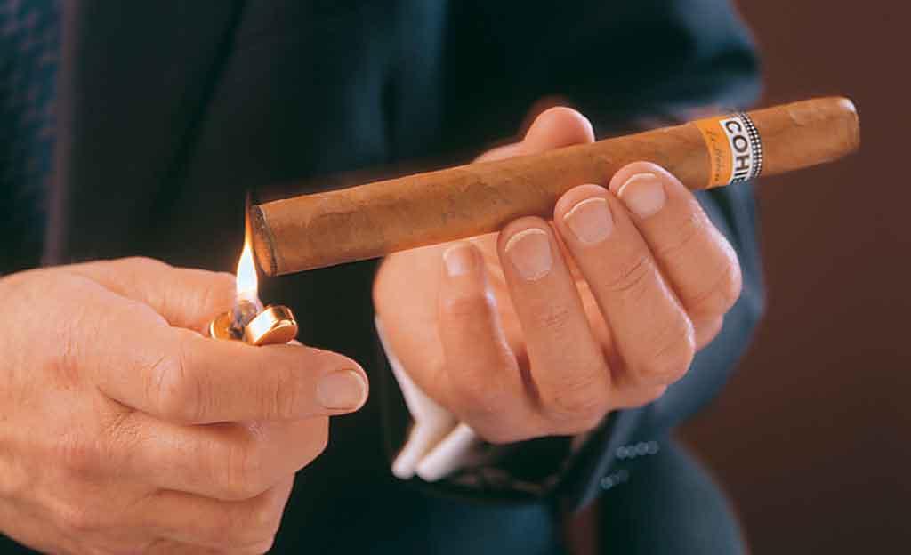 Kubanische Zigarren richtig anzünden
