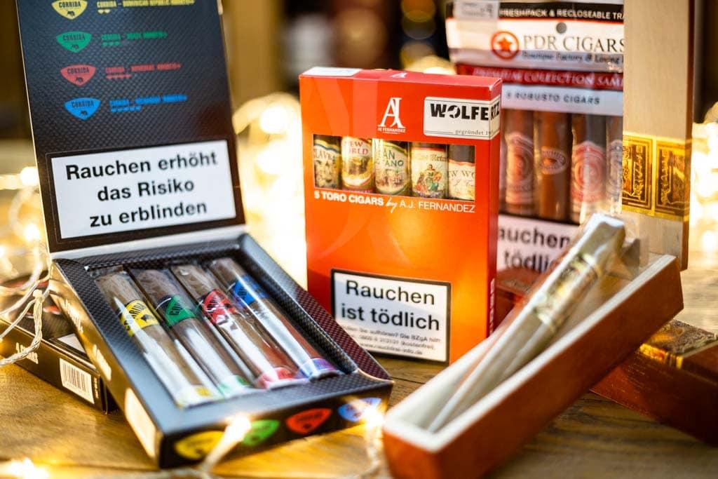 Zigarren Geschenke für Einsteiger