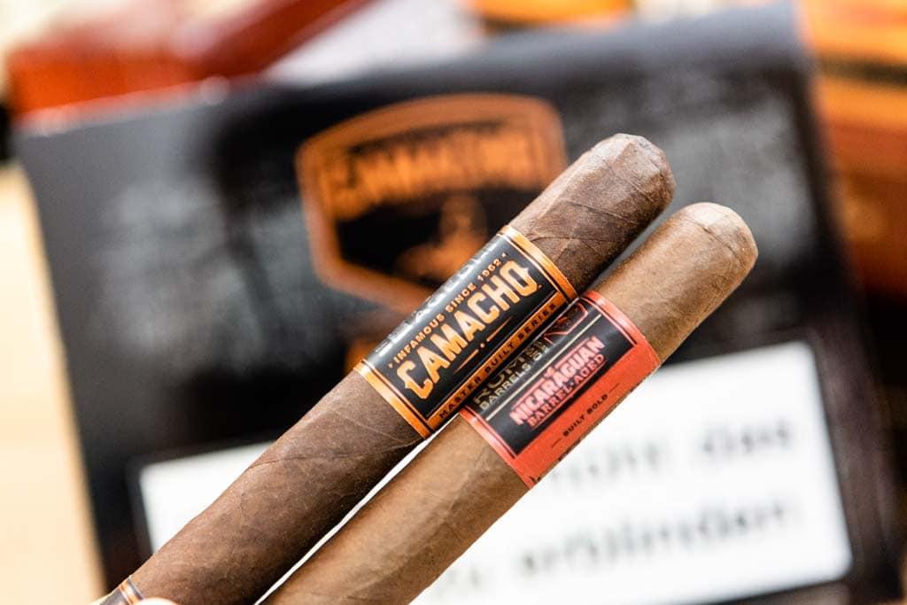 Barrel Aged Zigarren von Camacho
