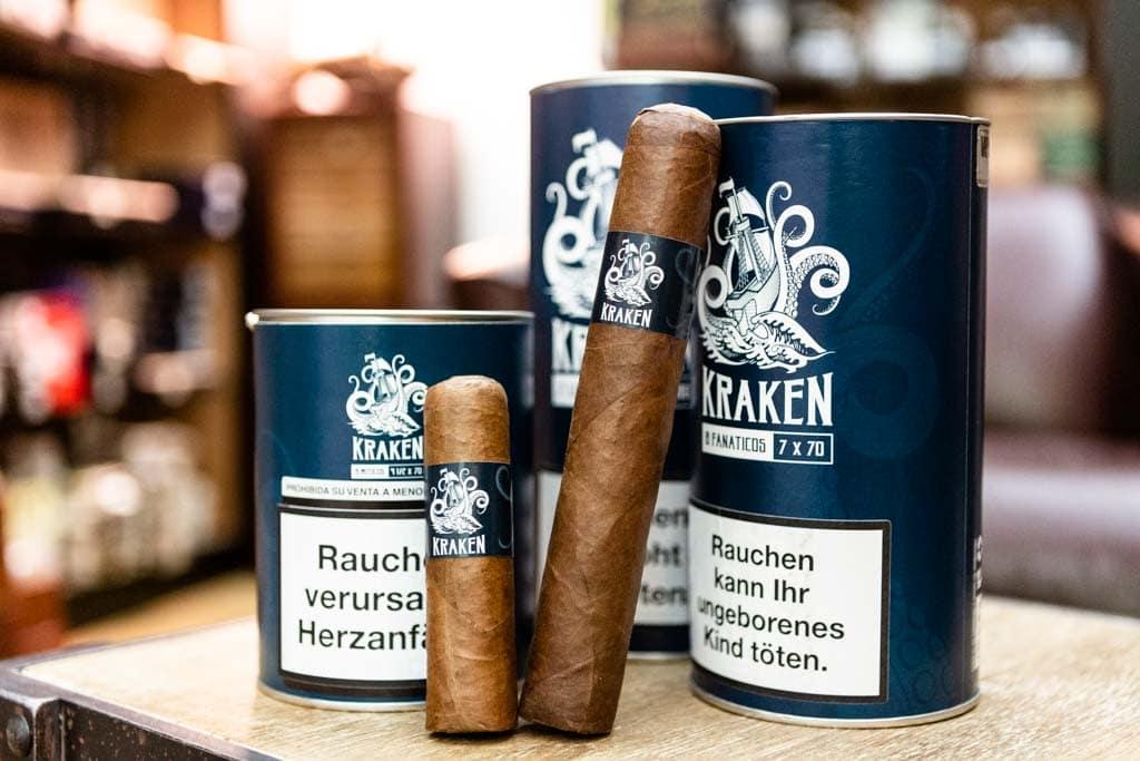 Riesenformate von Kraken Zigarren