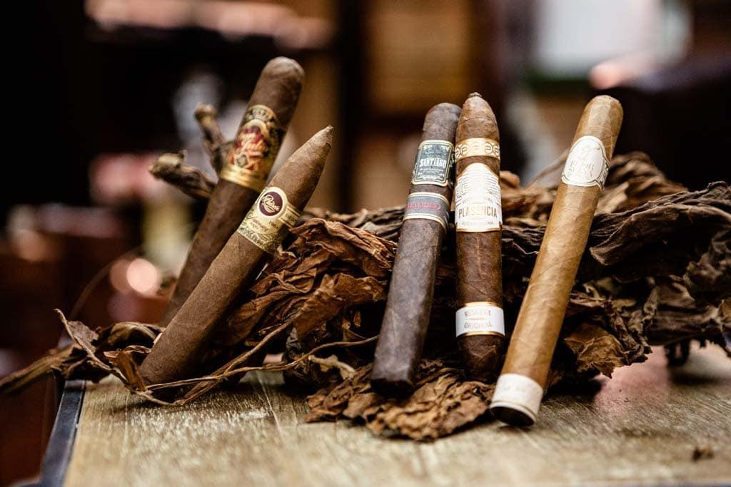 Premium Zigarren für einen genussreichen Abend