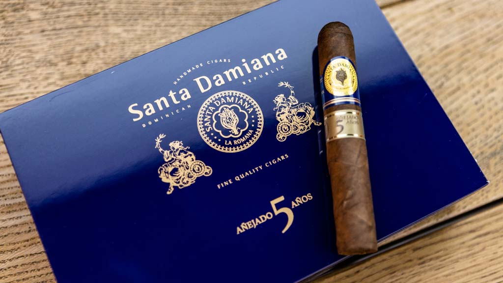 Santa Damiana Añejados 5 Años Five Years Aged 10er-Kiste