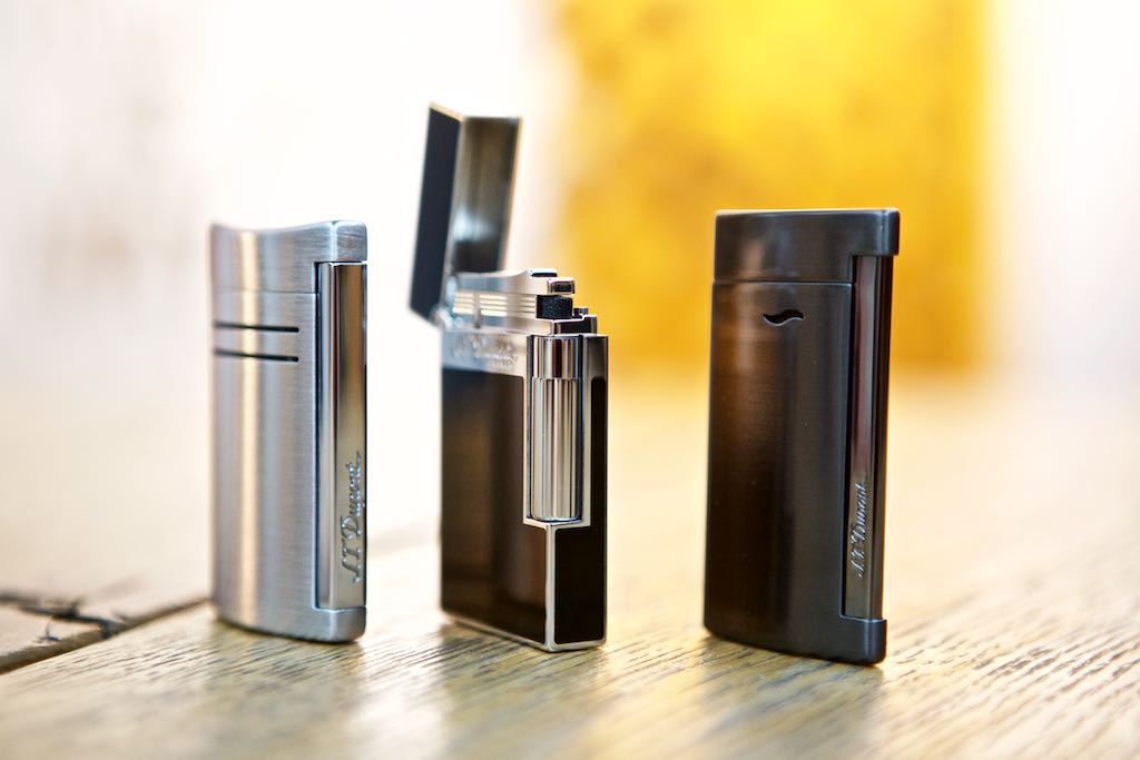 S.T. Dupont bietet verschiedene Feuerzeuge an