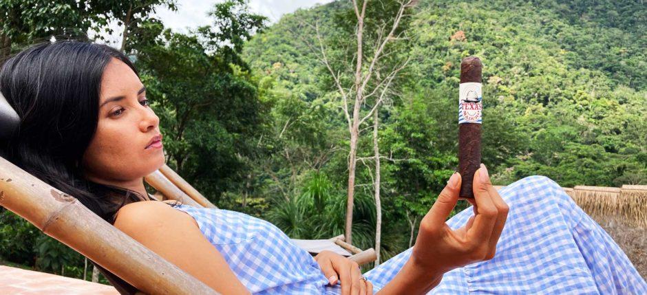 Zigarre rauchen tagträumen