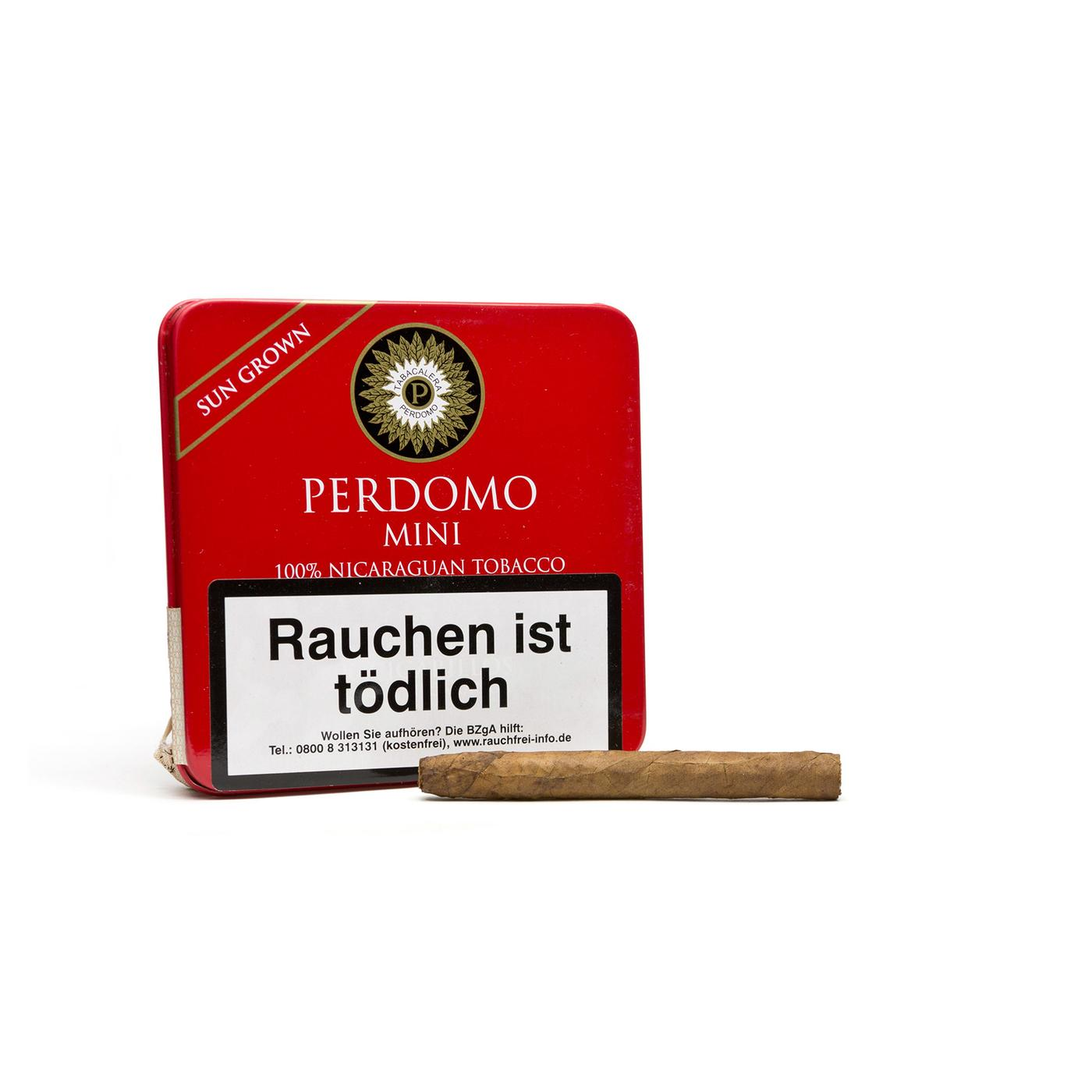Perdomo Mini Cigarillos Sun Grown
