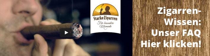 Zigarrenwissen in unserem FAQ