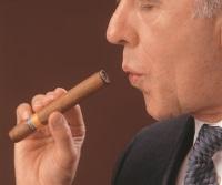 Zigarre ausglimmen
